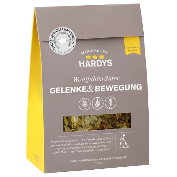 Hardys Nahrungsergänzung Wohlfühlkräuter Gelenke & Bewegung 45g
