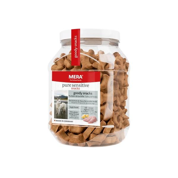 MERA pure sensitive goody snacks Truthahn&Kartoffel 600g