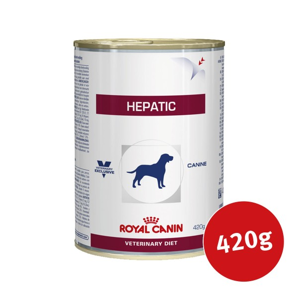 Royal Canin Vet Diet Nassfutter Hepatic - 420g - broschei