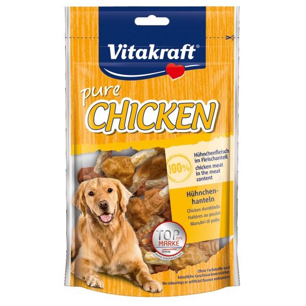 Vitakraft Hundesnack pure Chicken Hühnchenhanteln 80g