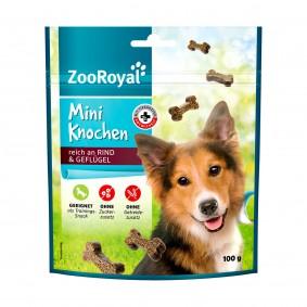 ZooRoyal Mini kostičky s vysokým obsahem hovězího a drůbežího masa