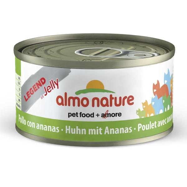 Almo Nature Katzenfutter 70g - Huhn & Ananas