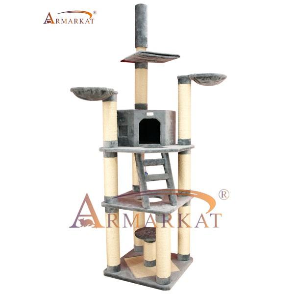 Armarkat Kratzbaum 135x83x225-245cm