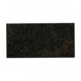 Schwarzkorkrückwand 100x50x2cm