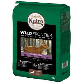 Nutro Adult Wild Frontier Mit Hirsch & Rind für große Hunde