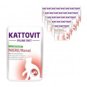 KATTOVIT Feline Diet Niere/Renal mit Truthahn 24x85g
