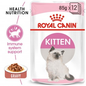 Royal Canin Gravy Kitten Instinctive in Sosse 48x85g