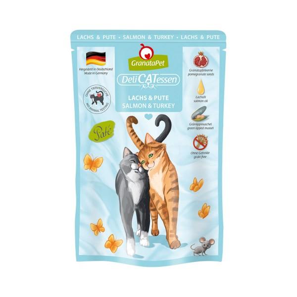 GranataPet Katze - Delicatessen Pouch Lachs & Pute