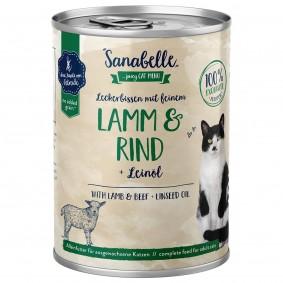 Sanabelle mit Lamm & Rind