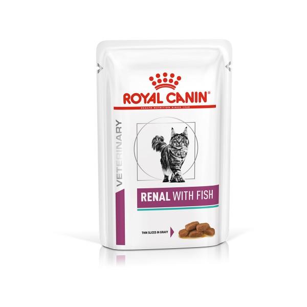 ROYAL CANIN RENAL FISCH Feine Stückchen in Sosse