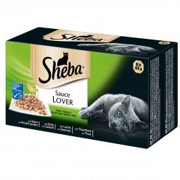 Sheba Sauce Lover Feine Vielfalt Multipack 8x85g