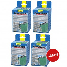 Tetra EasyCrystal Filter Pack 3 plus 1 gratis