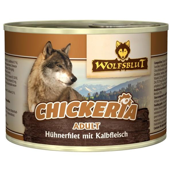 Wolfsblut Chickeria Adult Huhn mit Kalb