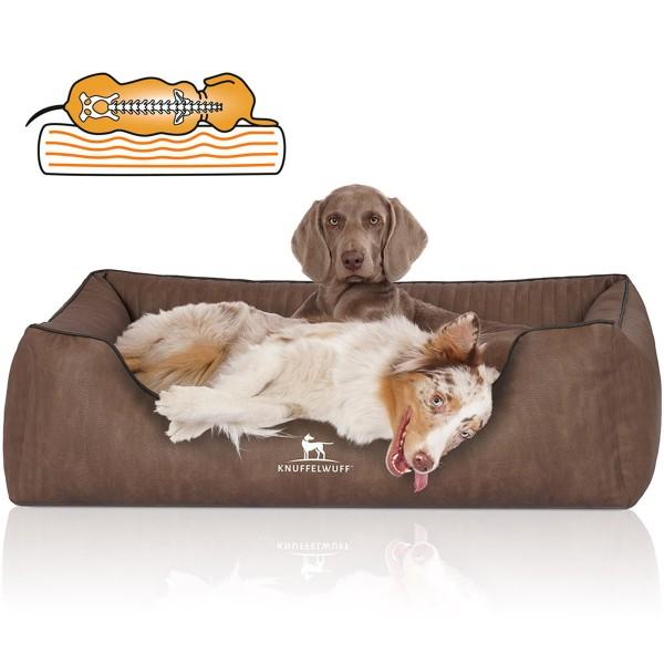 Knuffelwuff Hundebett Tampa braun