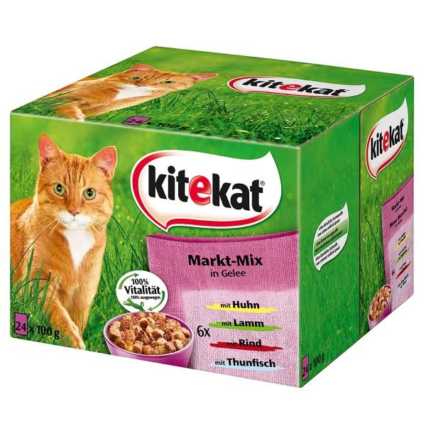 Kitekat - Aliment pour chats en sachets 24x100g