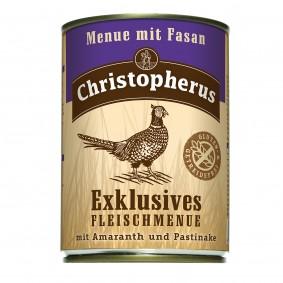 Christopherus Exklusives Fleischmenü Fasan