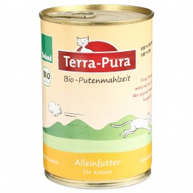 Terra Pura Katzenfutter Bio-Putenmahlzeit