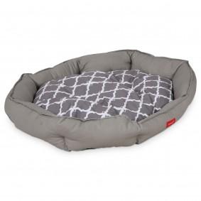 ZooRoyal Design Askil pelíšek pro psy, šedý