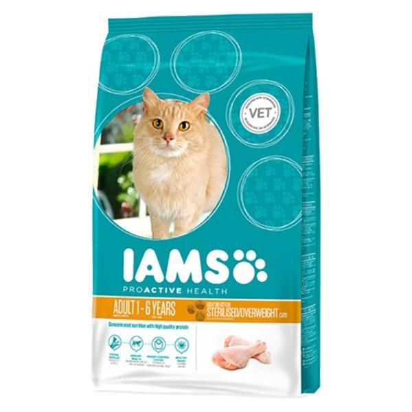 IAMS Katze Trockenfutter Adult Weight Control H...