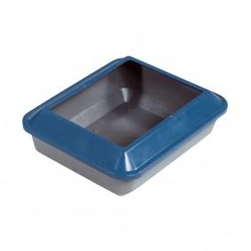 Catit Katzentoilette mit Rand schattenblau