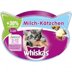 Whiskas Katzensnacks Junior Kitten Milch-Kätzchen 55g
