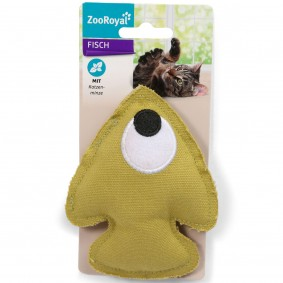 ZooRoyal Eco-Fisch mit Katzenminze