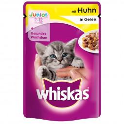 Whiskas Junior mit Huhn in Gelee 24x100g