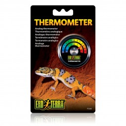 Exo Terra Analog-Thermometer für Terrarien