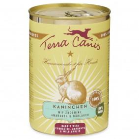 Terra Canis Kaninchen mit Amaranth, Zucchini und Bärlauch
