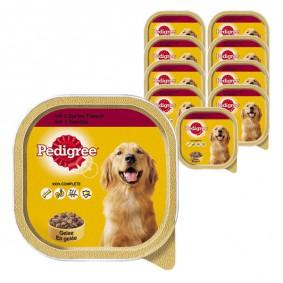 Pedigree Hundefutter mit 3 Sorten Fleisch 10 x 300g