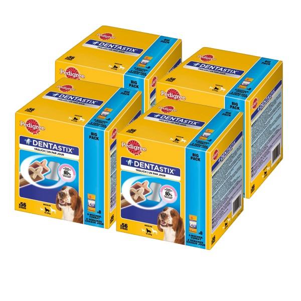 Pedigree Multipack Hundesnacks DentaStix für mittelgroße Hunde 224 Stück