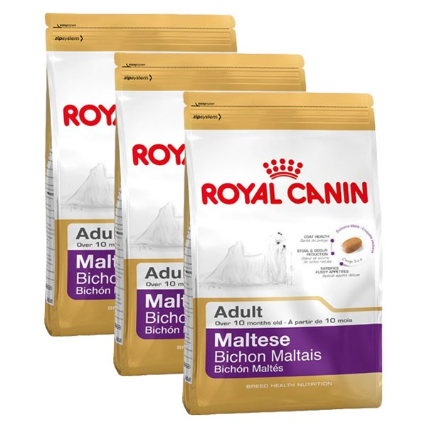 Royal Canin Hundefutter Maltese 24 Adult 3x1,5kg