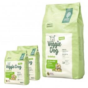 Green Petfood VeggieDog grainfree 10kg + 2x900g gratis