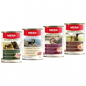 MERA Nature's Effect Nassfutter Mixpaket 6x400g