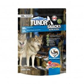 Tundra Dog Snack Active & Vital Ente, Lachs, Wild