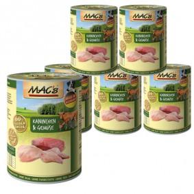 MAC's Dog Kaninchen & Gemüse