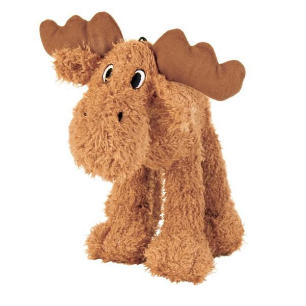 Trixie Elch Plüsch Hunde-Spielzeug mit Quietschie