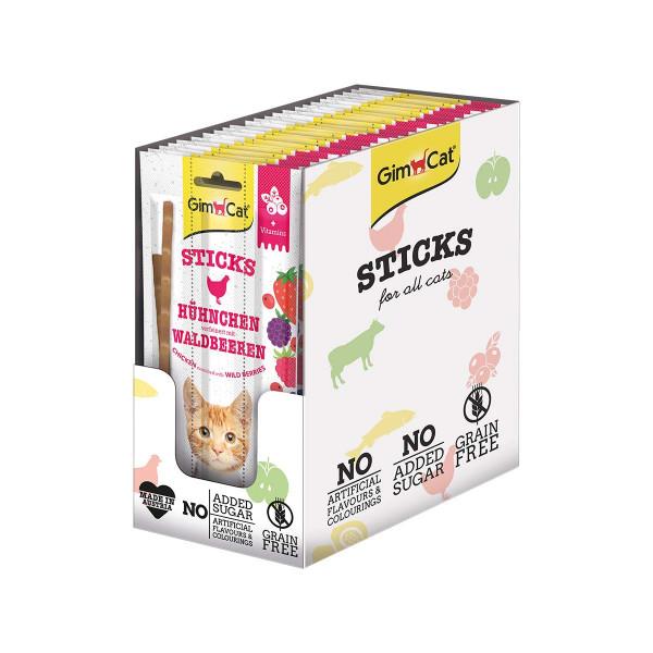 GimCat Superfood DuoSticks mit Hühnchen & Waldbeeren