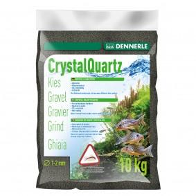 Dennerle Aquarium Kristall Quarzkies Diamantschwarz 10kg