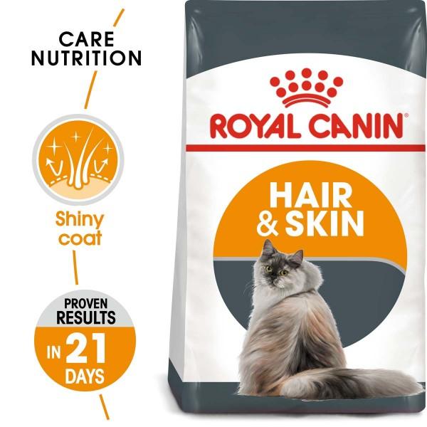 ROYAL CANIN Hair & Skin Care Katzenfutter trocken für gesundes Fell