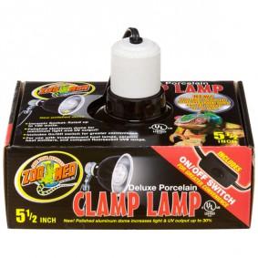 Zoo Med Deluxe Lampe à pince en porcelaine