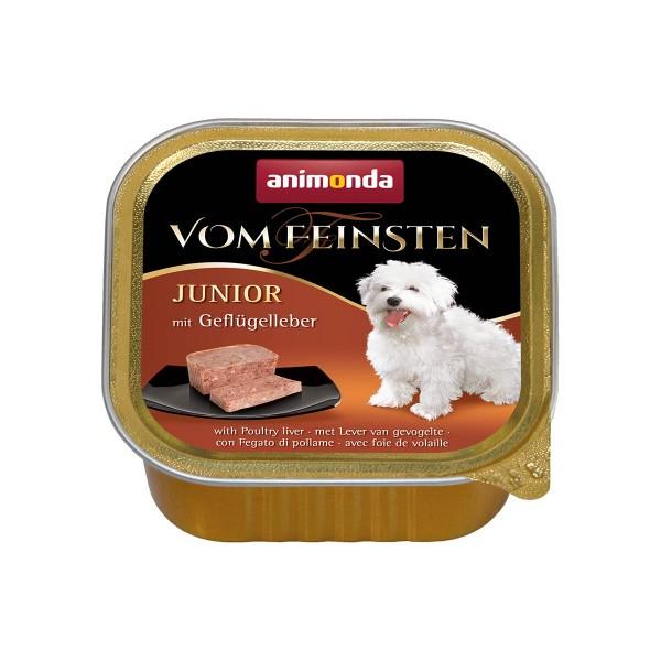 Animonda Hundefutter Vom Feinsten Junior Geflügelleber