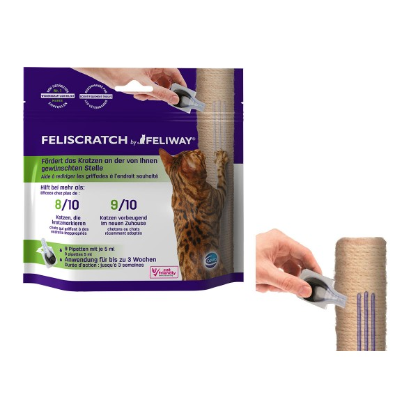 Feliscratch by Feliway Pipetten 9x5ml