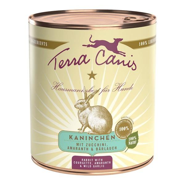 Terra Canis CLASSIC – Kaninchen mit Zucchini, Amaranth und Bärlauch
