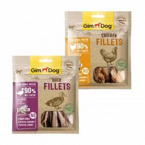GimDog Fillets mit grünem Tee Mixpaket