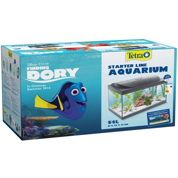 Tetra Findet Dorie LED Aquarium 54l