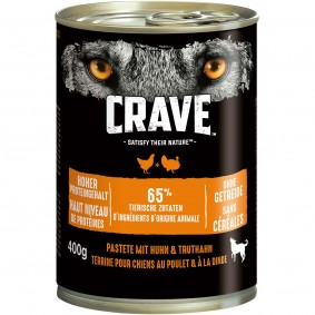 CRAVE Dose mit Huhn und Truthahn