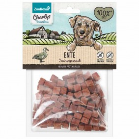 ZooRoyal Charlys Naturkost Trainingssnack Ente 100g