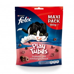 FELIX Play Tubes Truthahn & Schinken Katzensnacks