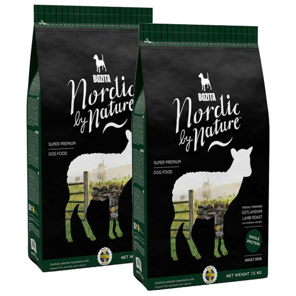 Bozita Nordic By Nature Gotlandian Lamb roast 2x7,5kg